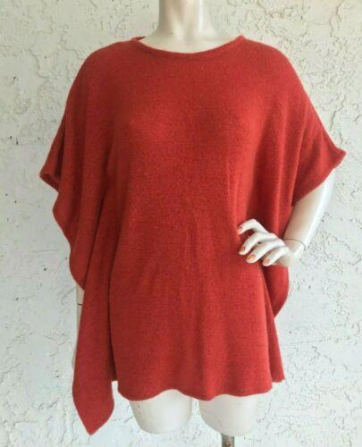 THAKOON Addition Sweater Top Orange Mohair Blend O