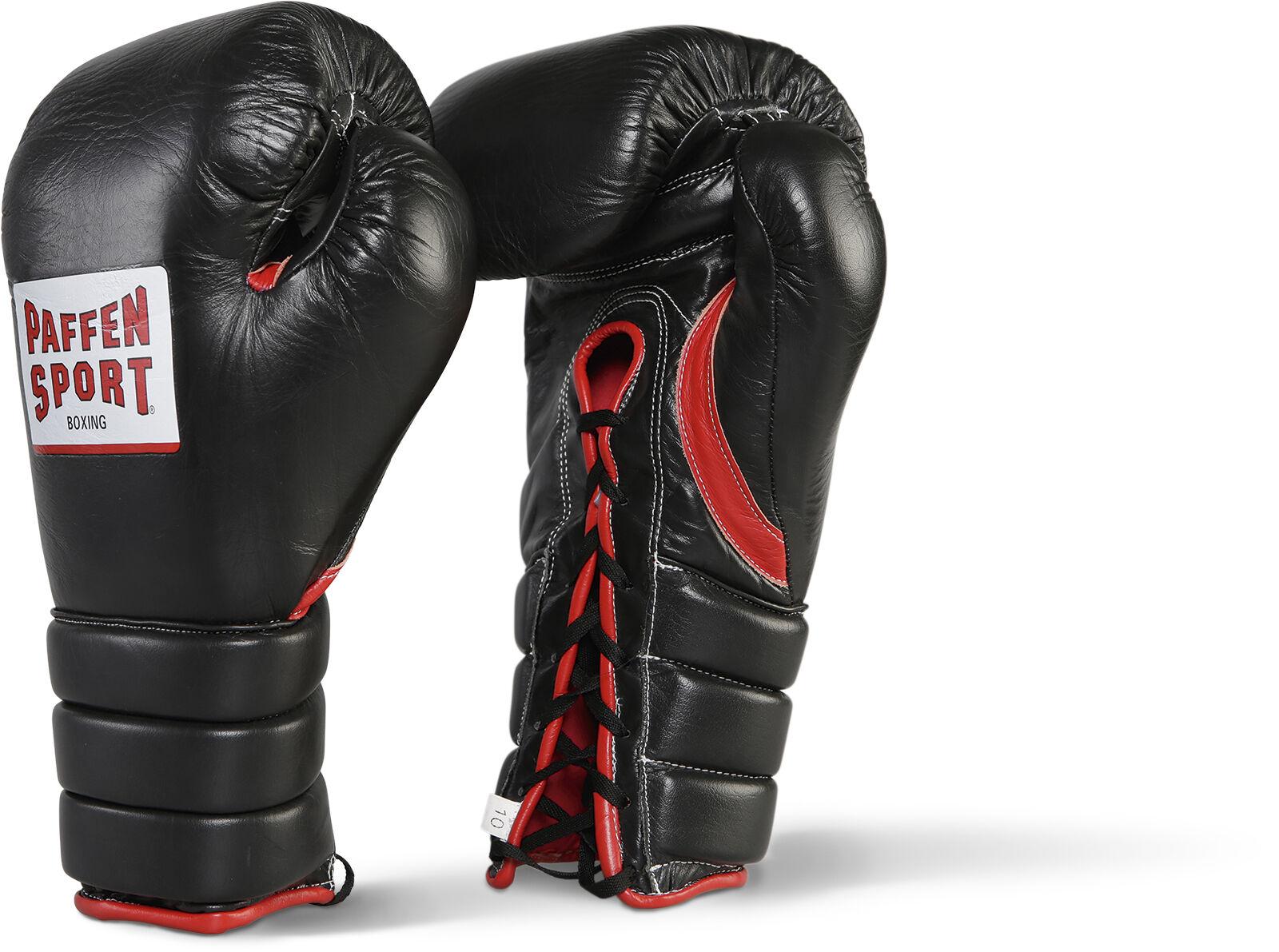 Paffen Sport Pro Guard Boxhandschuhe. Wettkampf. Boxen. Schnürrung, 8 od. 10oz
