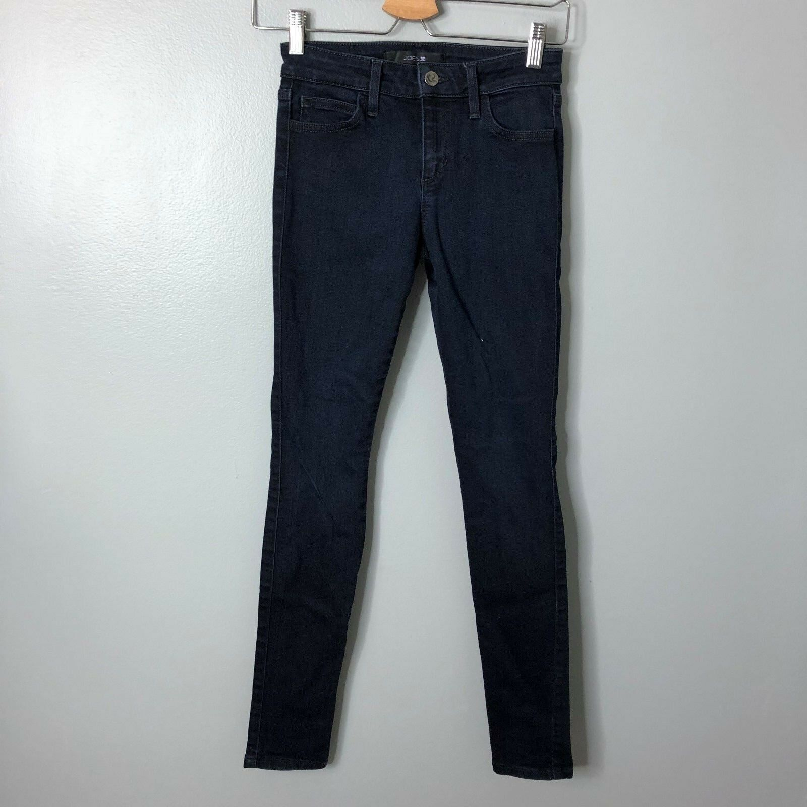 Joe's Jeans The Skinny Denim Auria Dark Wash Sz 24 00 Womens Slim Stretch