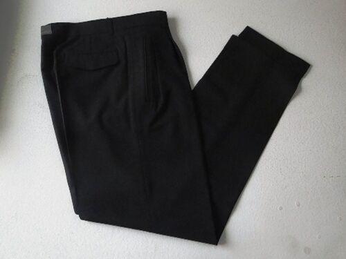 Wimmers nouveauton messieurs pantalon tuchhose noir uni taille 94 NOUVEAU