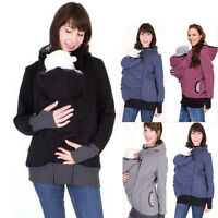 Babywearing Hoodie Jacket Fleece Jumper For Baby Sling