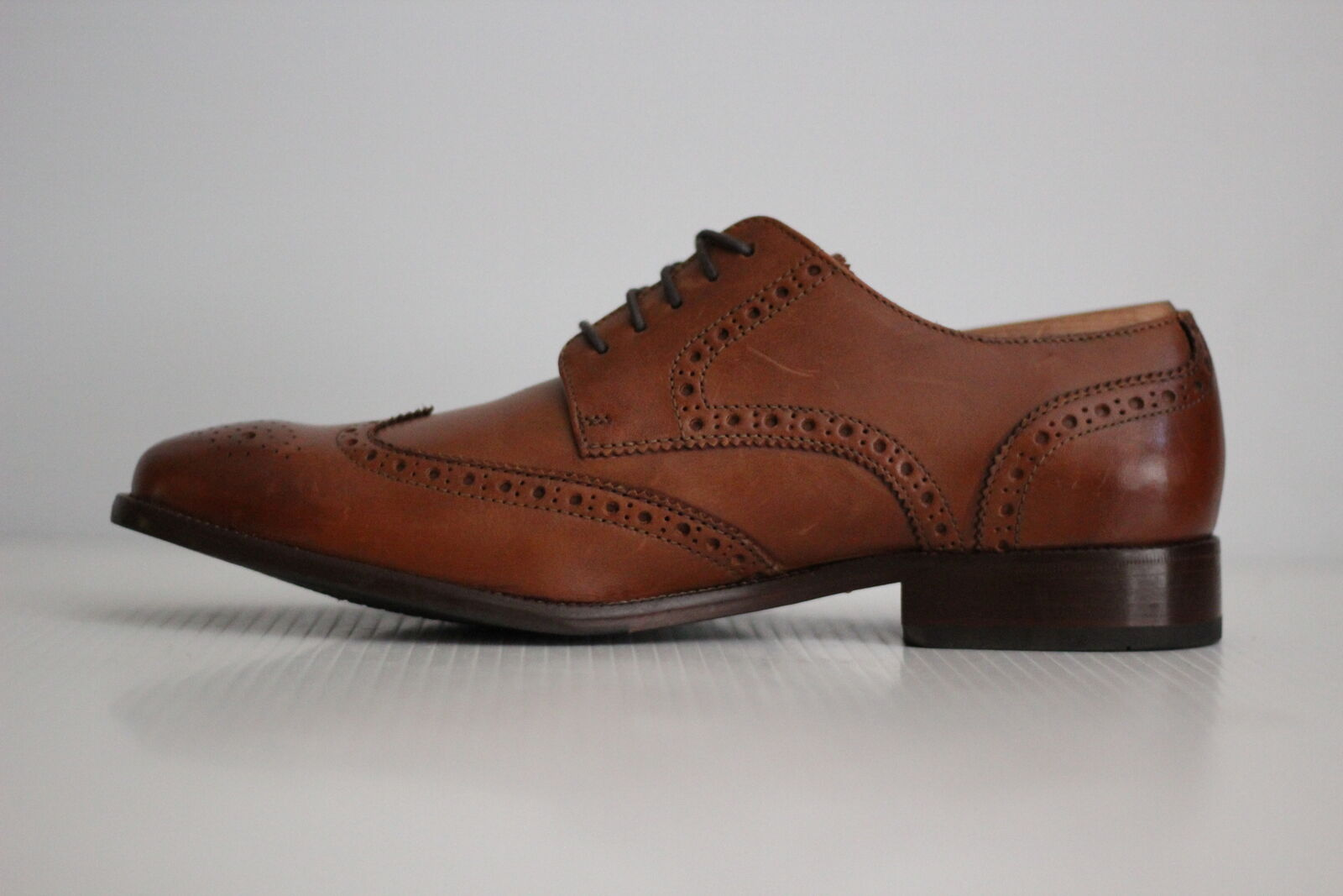 NEW Cole Haan Benton Wingtip Oxford Oxford Oxford II - British Tan - 9 M - C24116 (Q52) a1f977