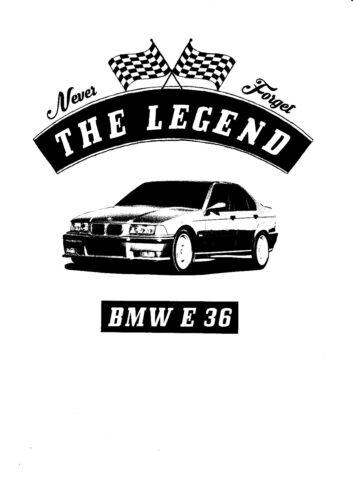 Auto,Oldtimer,Youngtimer T-Shirt BMW E 36