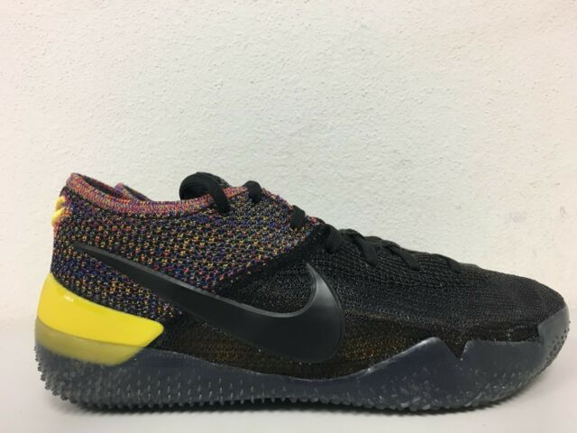 76013d643050 Nike Kobe AD NXT 360 Shoes Black   Multi Color Mens Size 9 Aq1087 ...