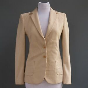 Wool Jacket Italy Cream Angora Blend Massimo Virgin Blazer Viamaggio Rebecchi S Details About 08nwmN