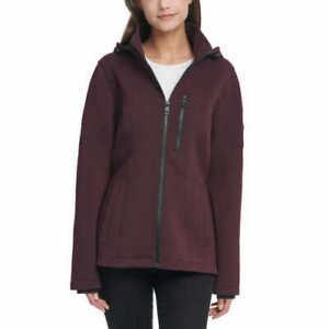 NEW-Andrew-Marc-Women-039-s-Full-Zip-Hooded-Knit-Scuba-Jacket-Variety-F12