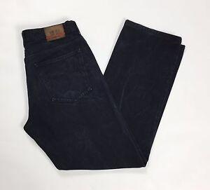 Cerruti-blue-jeans-w36-tg-48-uomo-gamba-dritta-blu-slim-boyfriend-usato-T1934