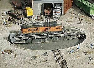 WALTHERS-CORNERSTONE-HO-SCALE-TURNTABLE-KIT-WITHOUT-MOTOR-KIT-933-3171
