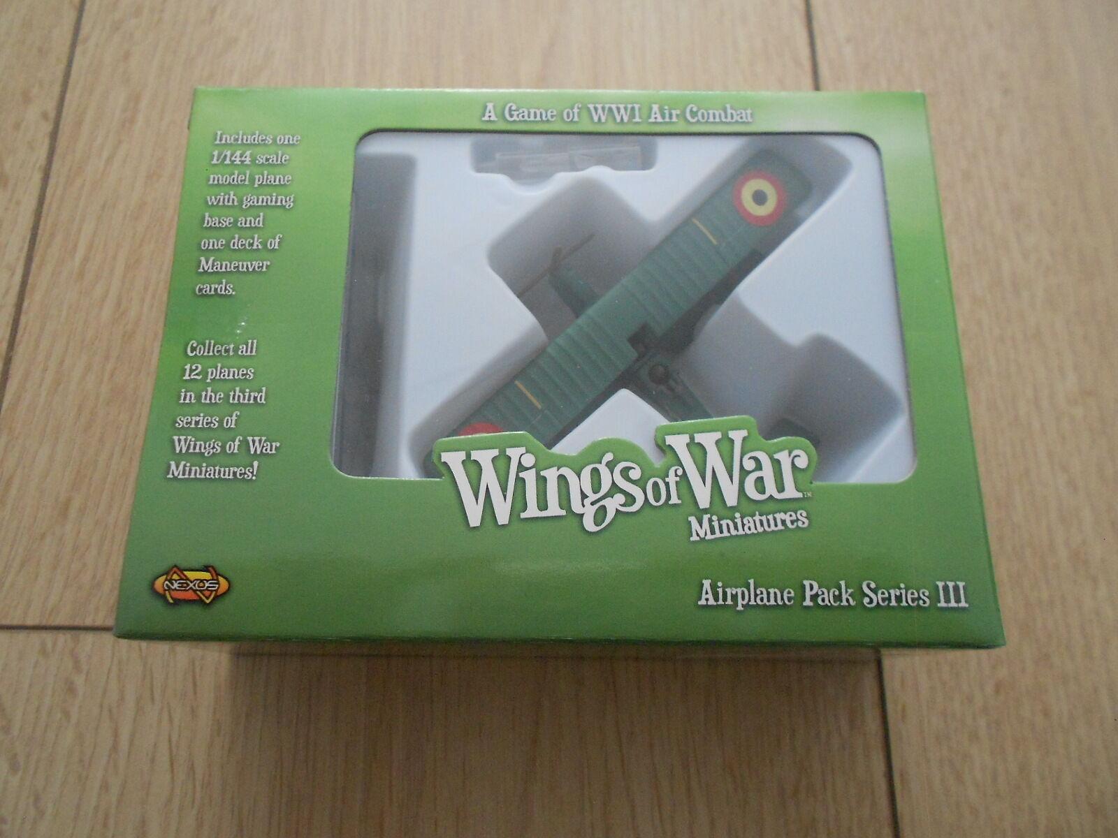 Die flügel des krieges - der erste weltkrieg - raf r.e.8 - luftfahrt militaire - serie iii - wow125-c