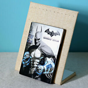 New-Batman-Arkham-City-Armoured-Edition-G1-Steelbook-Metal-Case-No-Game