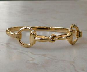 Solid 14k Gold Horse Snaffle Bit