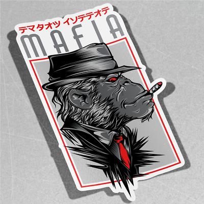 Like A Boss Gangster Mafia Self Adhesive Vinyl Sticker Decal Window
