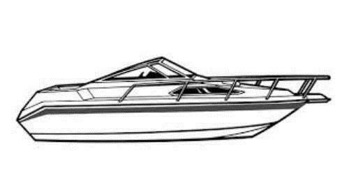 7oz Styled To Fit Boat Cover GLASTRON Ventura 209 1990