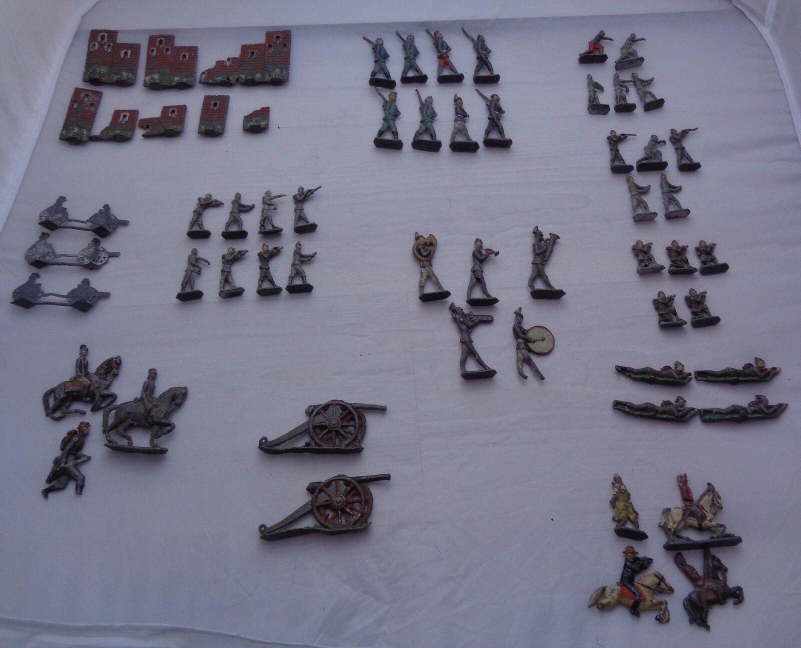 Muchos soldados lideraron lideraron lideraron a los soldados y los uniformes fueron pintados durante 800 años y 40 años. f71