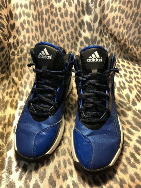 speical offer wholesale new appearance Adidas Crazy Ghost Shoes Size US 6 UK 5.5 Black/White/Blue (ART S84906)