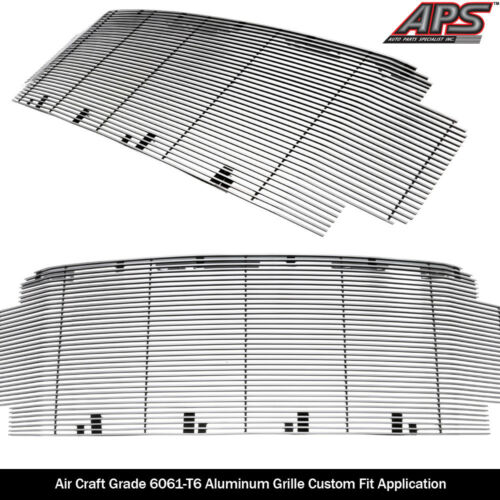 Fits 2017-2019 Ford F-250//F-350//F-450//F-550 Without Front Camera Billet Grille