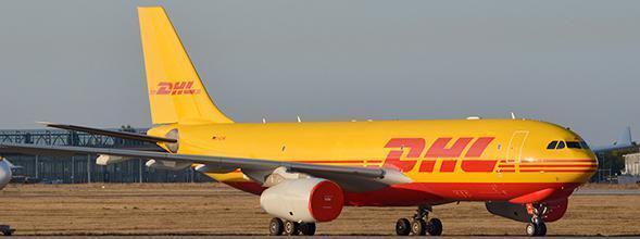 JC Wings jclh 2155 1/200 DHL di trasporto aereo Europeo AIRBUS A330-200F REG: D-Alma