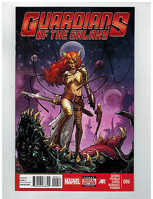 GUARDIANS OF THE GALAXY #6  1st Printing                    / 2013 Marvel Comics