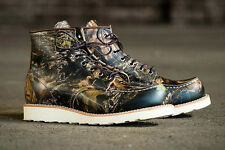 """RED WING HERITAGE MOC TOE 6"""" NWT LIMITED EDITION MOSSY OAK CAMOUFLAGE MENS 12"""
