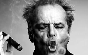 JACK-NICHOLSON-CANVAS-WALL-ART-HOME-DECOR-PICTURE-PRINT-FRAMED-20X30-INCHES