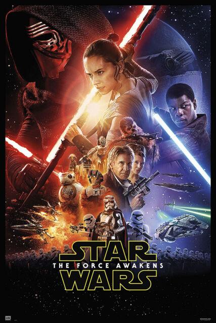 Premium Plakat Filmplakat Hochformat 68 x 101 cm Star Wars Episode 7 Poster