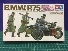 Tamiya 1/35 German BMW R75 Model Kit MM116 (Sealed Inside)