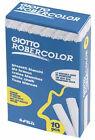 Giotto runde Kreide weiß 10er Etui