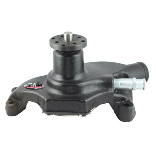 Tuff Stuff Water Pump 1354NCS; Mechanical Black Powdercoat Cast Iron for SBC