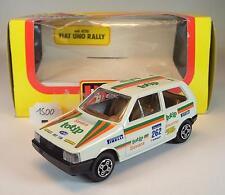 Bburago 1/43 cod.4120 Fiat Uno Rallye OVP #1500