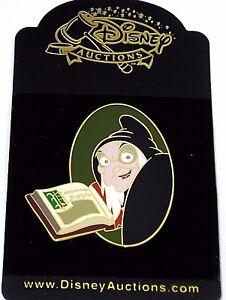 Rare Le Disney Auctions Pin Villain Evil Old Hag Snow White Spell Book Queen New Ebay