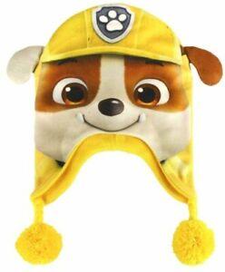 GORRO-PATRULLA-CANINA-PAW-PATROL-RUBBLE-Kids-Hat-Cappello-Bonnet-Pat-Patrouille