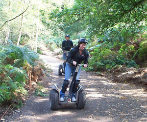 Segway Experience for Two People - One Hour Segway Rally for Two - SAVE £30