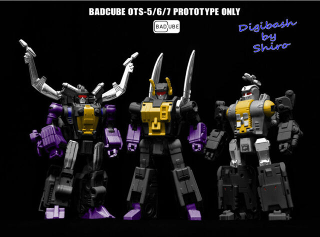 Transformers badcube OTS 05 06 07 Evil Bug corps en Stock