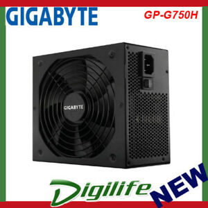 Details about Gigabyte G750H 750W ATX PSU Power Supply 80+ Gold  Semi-Modular 140mm Smart Fan
