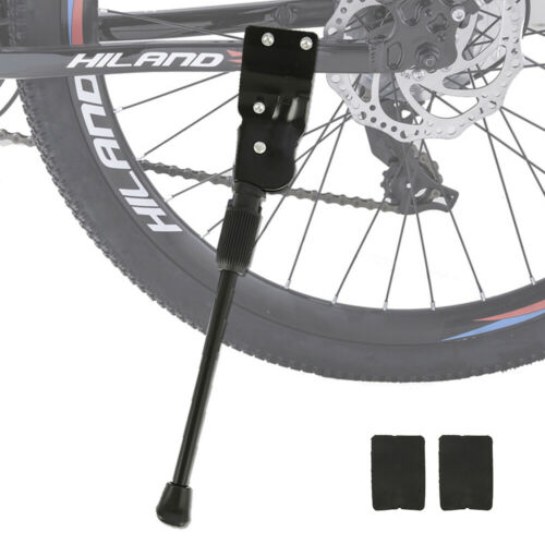 Bike Bicycle Single Adjustable Kickstand Middle Stand Foot Three-hole support UK