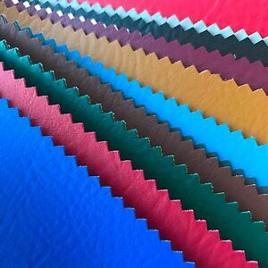 Vinyl-Fabric-Faux-Leather-Pleather-Auto-Upholstery-Marine-54-034-Wide-By-the-Yard