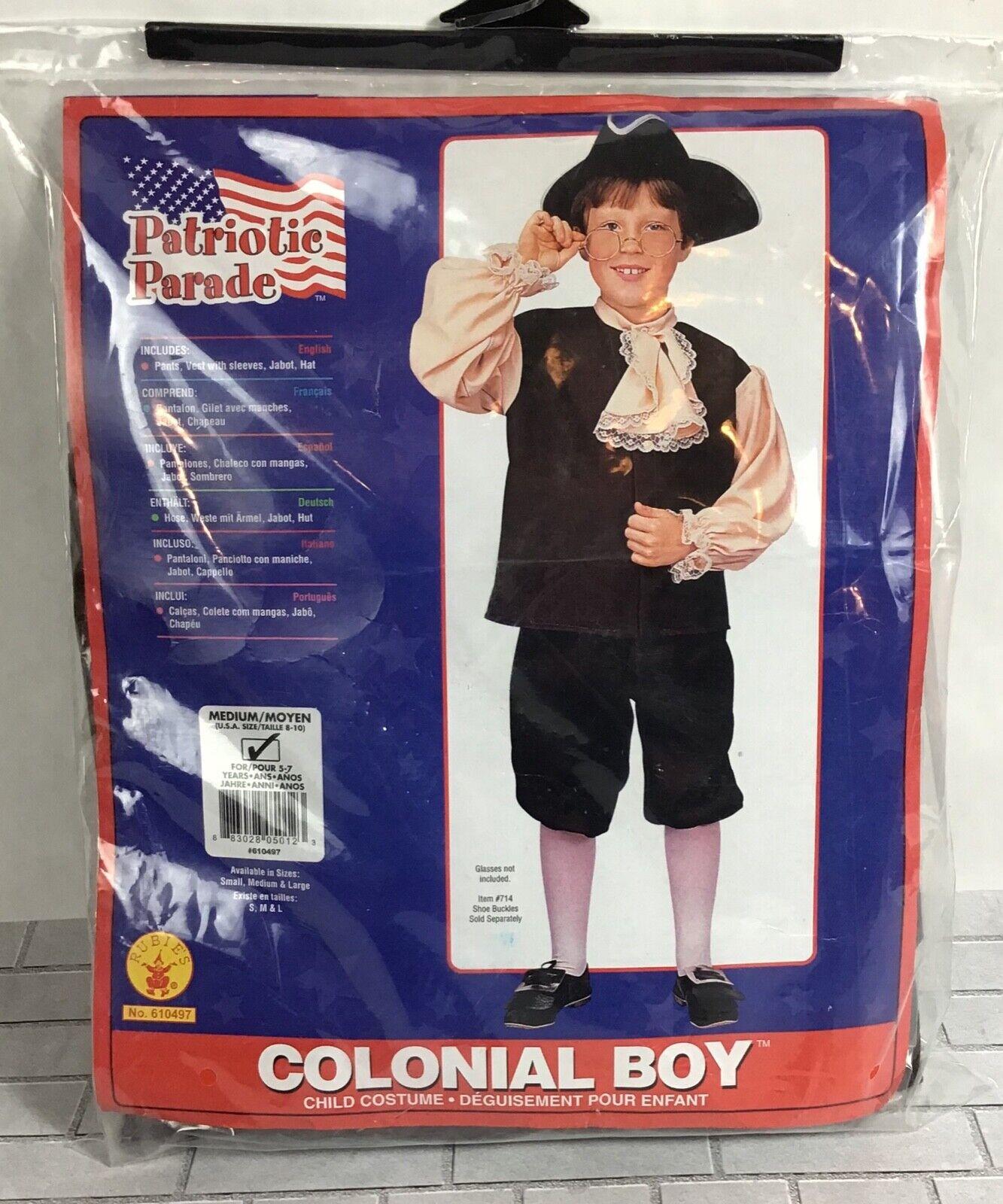 Colonial Boy Costume Minuteman Costume Rubies Kids Revolutionary War Era 10051