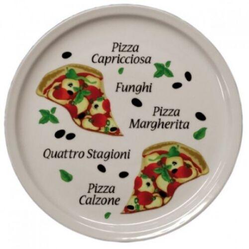 60 Teller Gastronomie Pizzateller Teller für Pizza 300mm Durchmesser 60er-Set