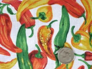 Red Hot Chili Pepper White Spicy Tex Mex Salsa Sew Craft