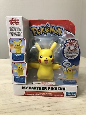 Pokemon My Partner Pikachu Interactive Electronic Figure Sounds New in Box
