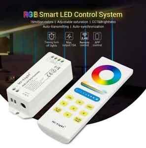 Milight Smart LED Control System for RGB/RGBW/RGB+CCT Strip Light, DC 12V 24V