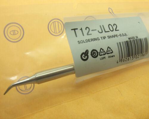 1PCS T12-JL02 tip 12-24V 70W FOR FX-9501 912//FM-2027//2028 soldering iron handle