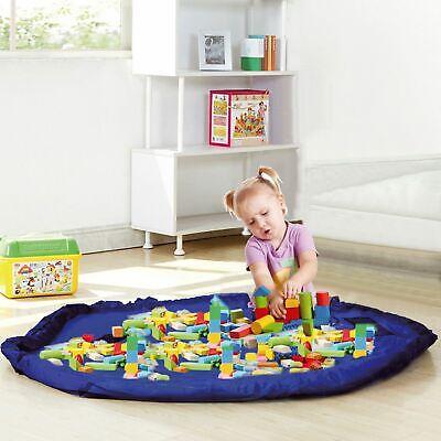 King DO Way Large Tidy Bag Kids Rug Portable Kids Toys Organizer Storage Drawstring Bag Play Mat 150cm Toy Storage Bag