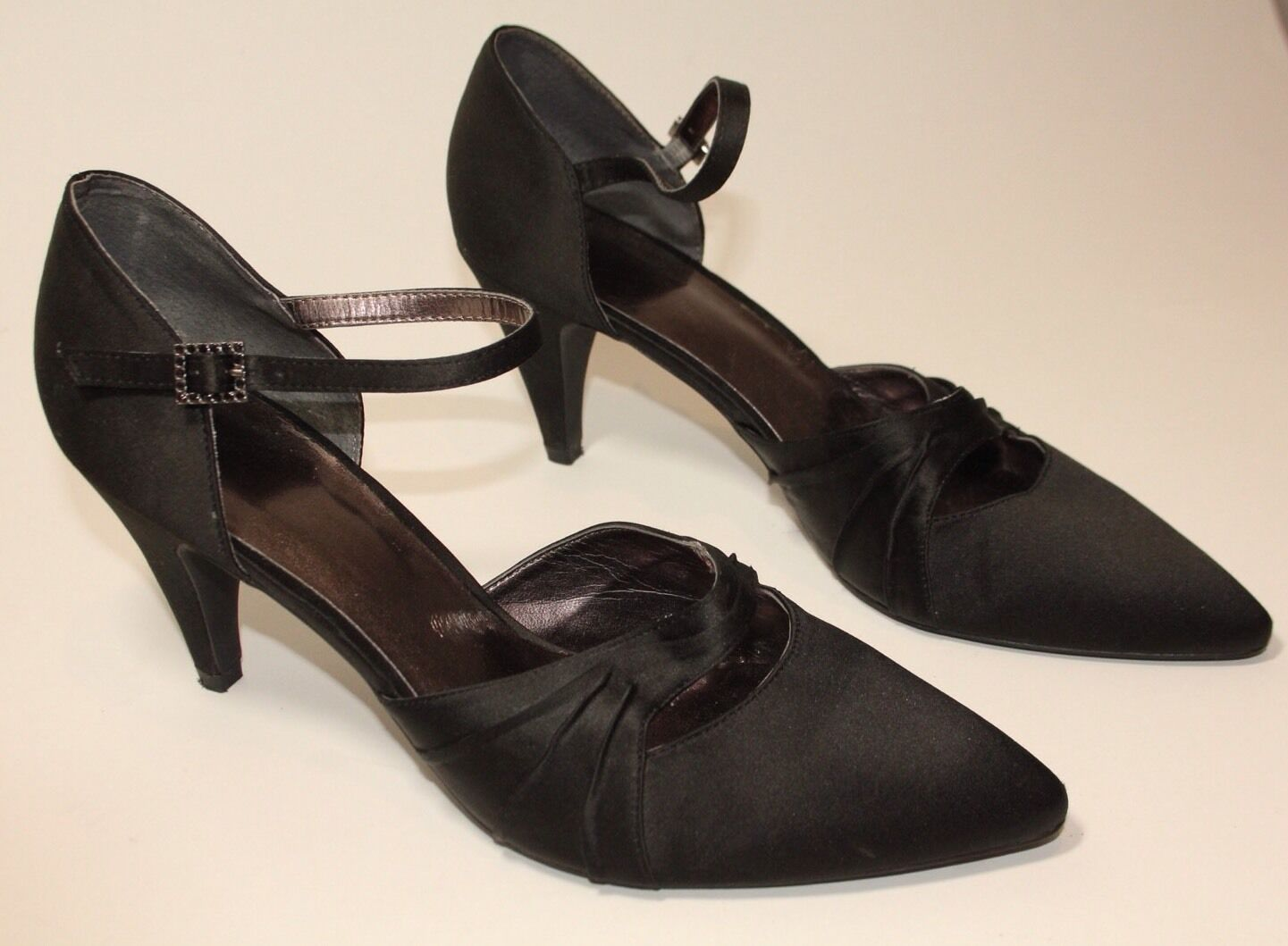 Clarks womens black heels uk 7