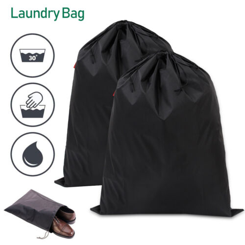 Toiletry Cotton Drawstring Laundry Storage Bag Travel Wash Home Clothes Sack