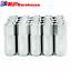 Universal-20PCS-M14X1-5-60MM-Aluminum-Tuner-Lug-Nuts-For-HONDA-BMW-FORD-Silver thumbnail 2