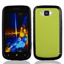 For Samsung Focus 2 i667 TPU Gel GUMMY Hard Skin Case Phone Cover Green Black