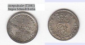 stampsdealer-Dreiling-1830-Mecklenburg-Schwerin-fast-Stempelglanz-stampsdealer