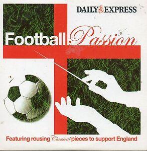 FOOTBALL-PASSION-PROMO-CD-PUCCINI-NESSUN-DORMA-WAGNER-VERDI-GRIEG-ROSSINI