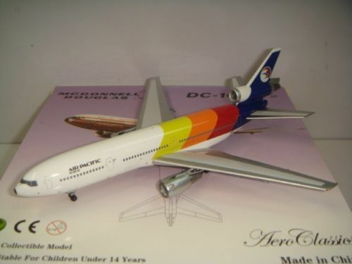 Aeroclassics 400 Air Pacific DC-10-30  1980s Coloreee - We Are Fiji  1 400